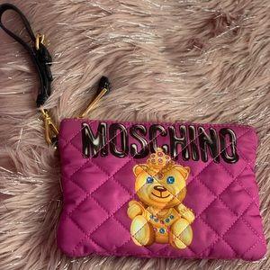 Moschino Couture Teddy Bear Princess Clutch